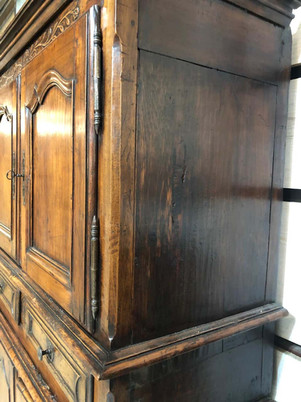 Louis XV Style French Provincial Tall Buffet