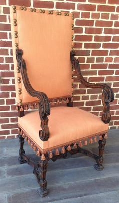 Early 17th Century French Provincial Louis XIII Period Armchair