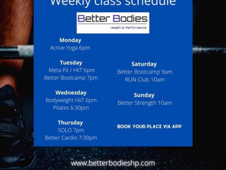 PILATES JOINS OUR SCHEDULE