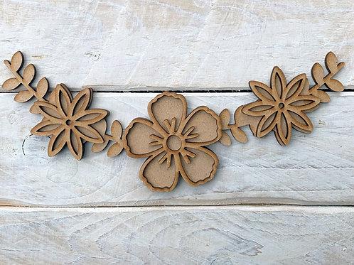 Floral Corner Add On Design 2