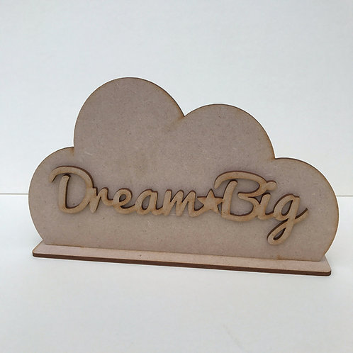 Cloud Shelfie Dream Big