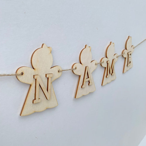Ginger Girl Bunting with Letters