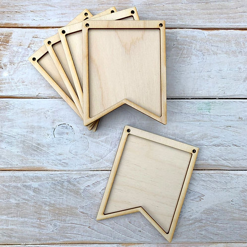 10 Pack Bunting Frame Bunting I