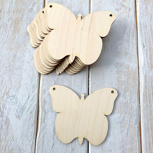 10 Pack Bunting Butterfly