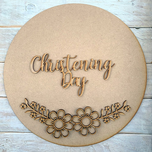 Circle Kit with Christening Day