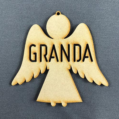 MDF Bauble Angel Granda