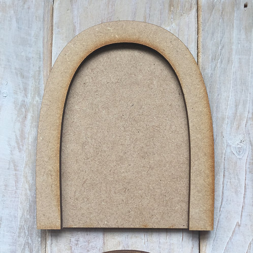 5 Pack MDF Fairy Door Bargain Craft Shape Door C