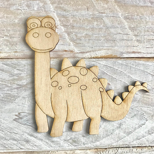 Plywood Brontosaurus 10 Pack