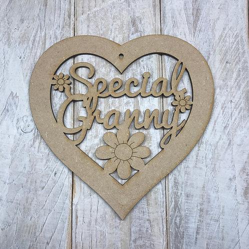 Special Granny Heart