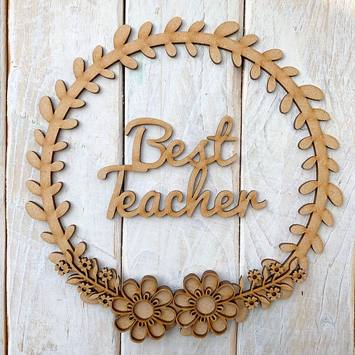 Laurel 1 Hoop Kit Best Teacher