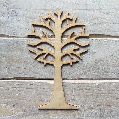 2 Pack Wooden Tree for Fairy Garden