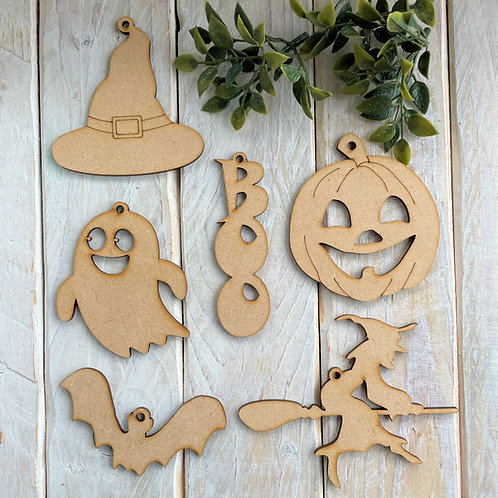 Clearance Halloween Assorted 6 Pack Shapes