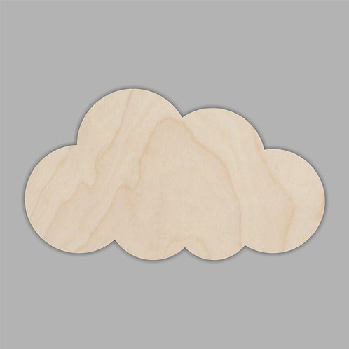 Plywood CLOUD Shape 10 PACK