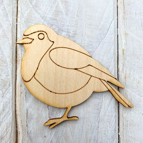 Plywood Robin 10 Pack