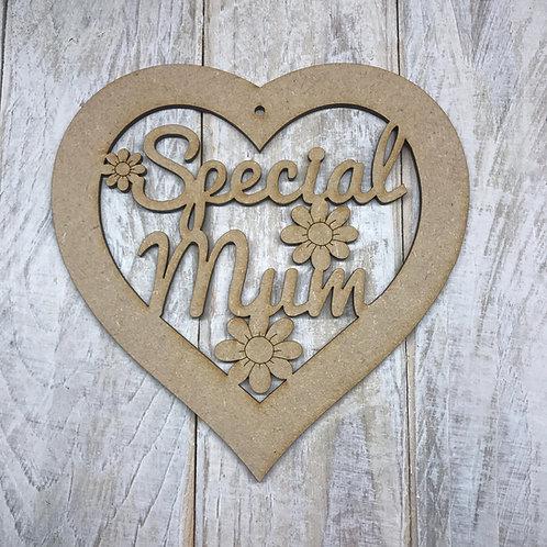 Special Mum Heart
