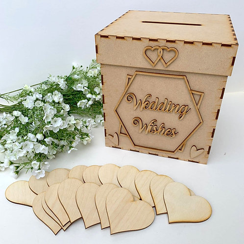 Build Your Own Wedding Wish Hexagon Wedding Wishes
