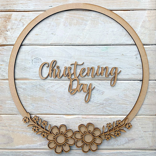 Hoop Kit with Christening Day