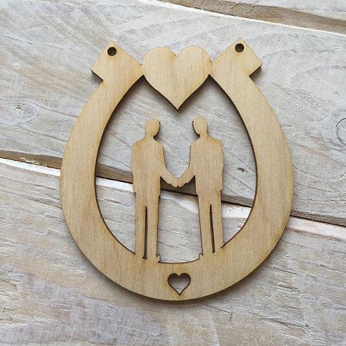 Plywood HORSESHOE MR & MR Shape 10 PACK