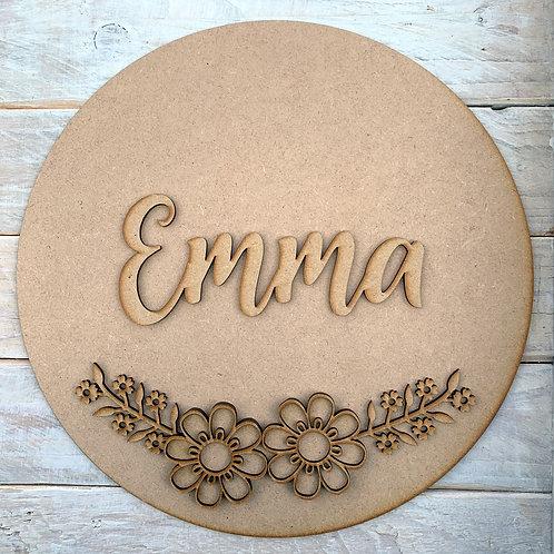Circle Kit with Name