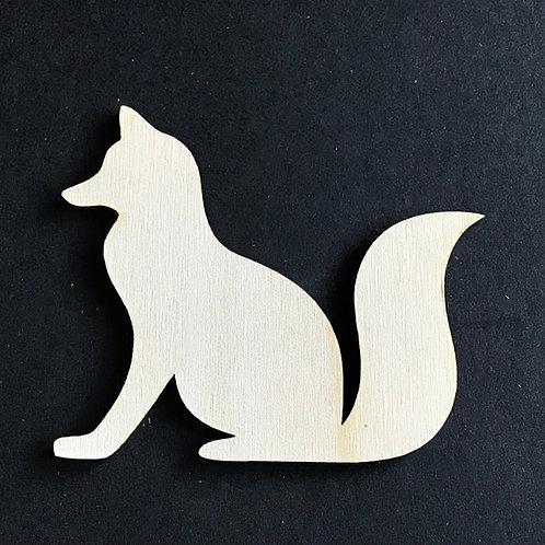Plywood 10 Pack Shape Fox