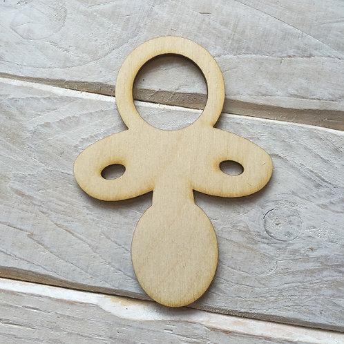Plywood BABY DUMMY Shape 10 PACK