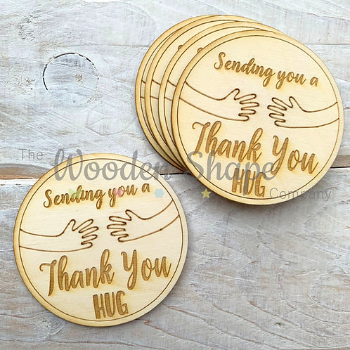 5 Pack Sending you a Thank You Hug