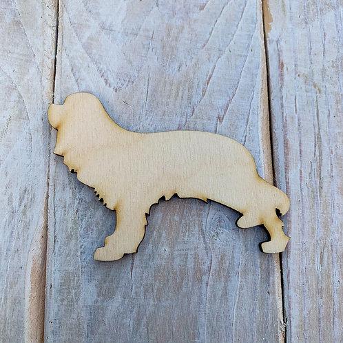 Plywood  Cavalier Spaniel Dog Shape 10 PACK
