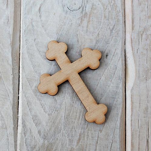 Plywood Cross Shape 10 PACK