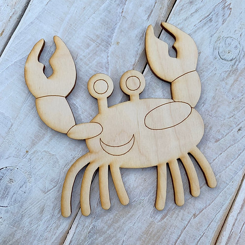 Plywood Crab Detail 10 Pack