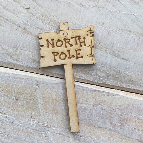 Sign Post R North Pole