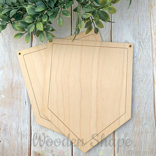 2 Pack Birch Plywood Plaque Bunting P
