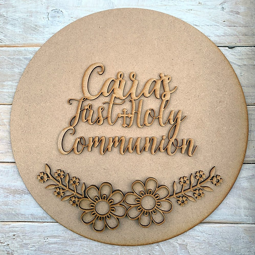 Circle Kit with First Holy Communion Personalised
