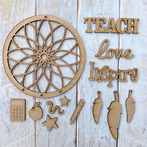 Dream Catcher Teacher Theme Teach Love Inspire