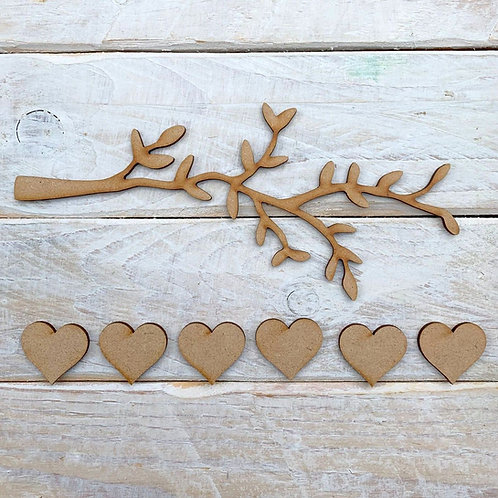 MDF Tree Branch Kit 20cm