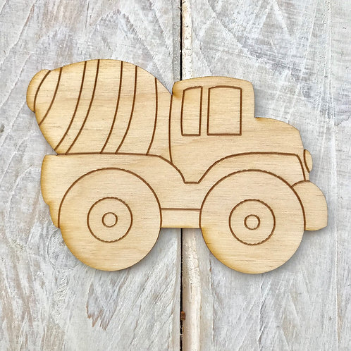 Plywood Cement Truck 10 Pack