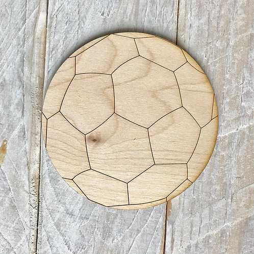 Plywood Football 10 Pack