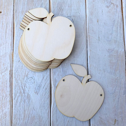 10 Pack Bunting Apple