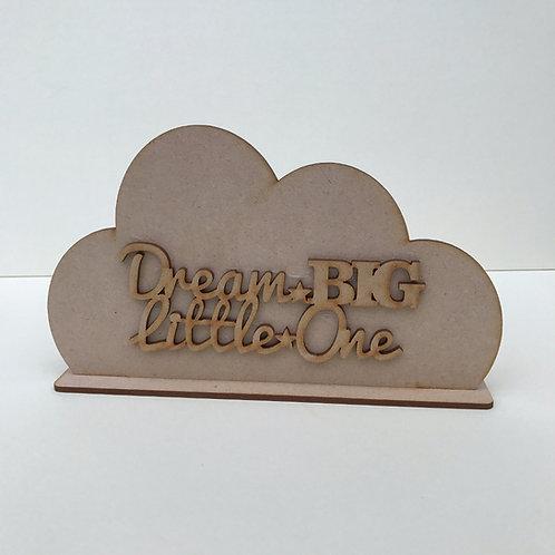 Cloud Shelfie Dream Big Little One