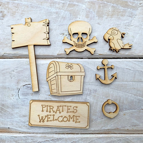 Fairy Door Accessory Kit Pirate Pack