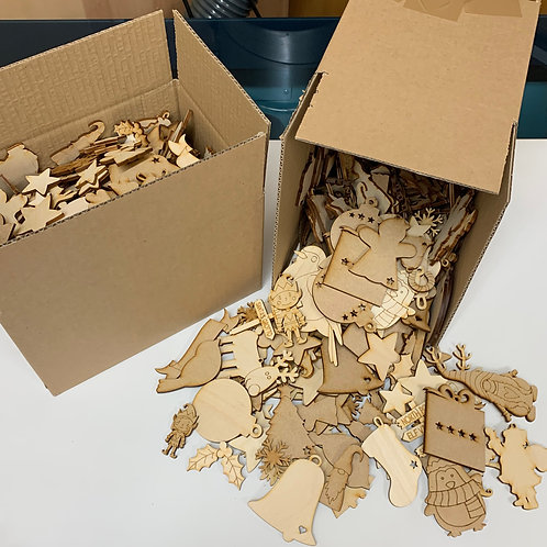 Assorted Christmas Theme Bargain Box