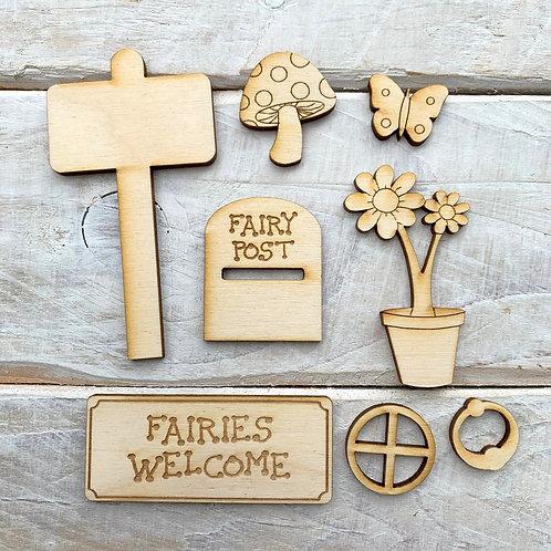Fairy Door Accessory Kit Fairy Pack