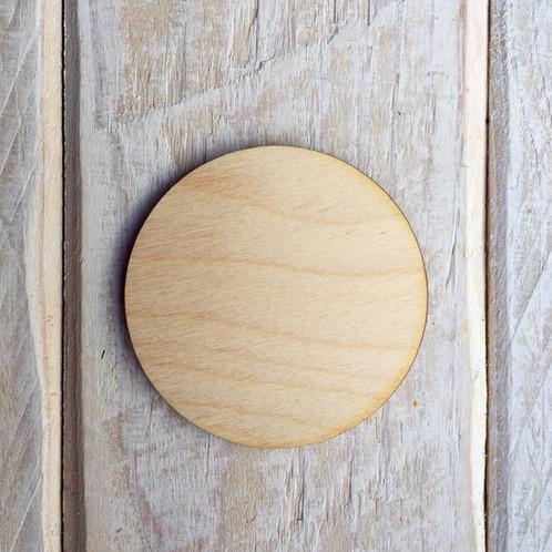 Plywood Circle Shape 10 PACK
