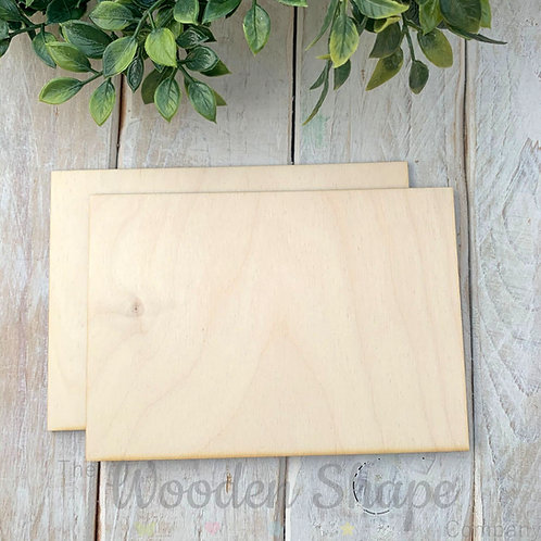 2 Pack Birch Plywood Pieces