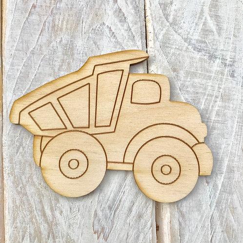 Plywood Dumper Truck 10 Pack