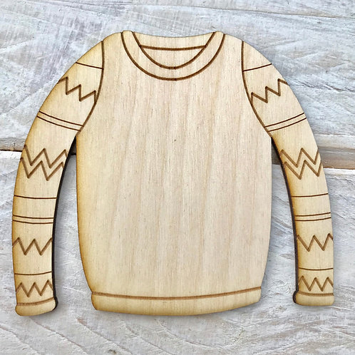 Plywood Christmas Jumper 10 Pack