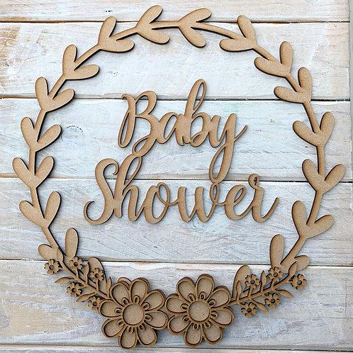 Laurel 2 Hoop Kit with Baby Shower