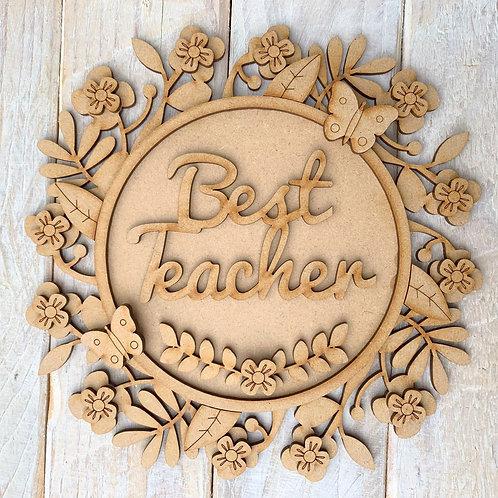 Layered Floral Ring Kit 20cm Best Teacher