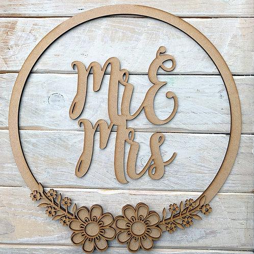 Hoop Kit Mr & Mrs, Mr & Mr, Mrs & Mrs