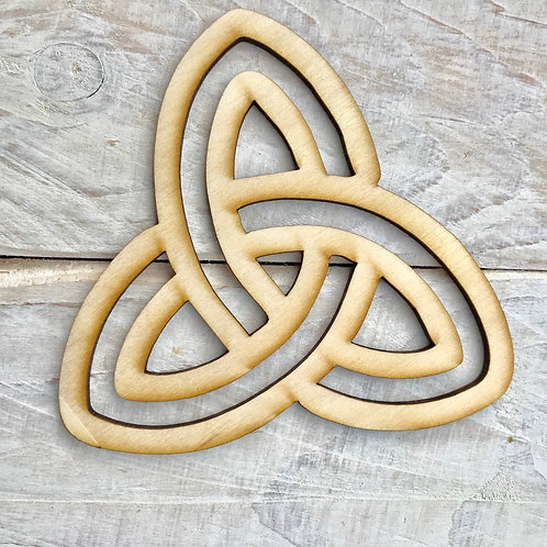 Plywood Celtic Infinity Knot 10 Pack