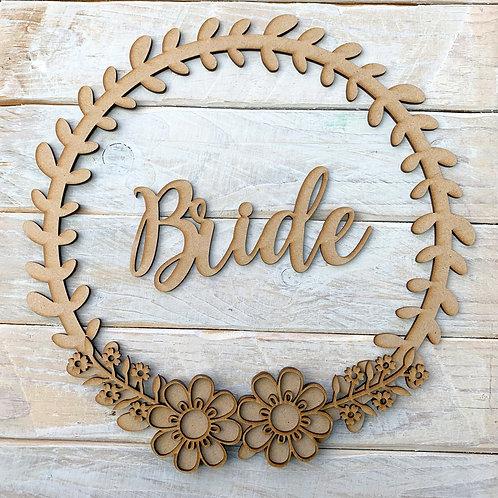 Laurel 1 Hoop Kit Bride or Groom